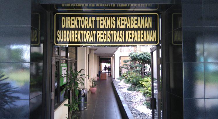 registrasi kepabeanan